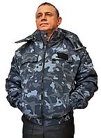 """Куртка утепленная """"Охрана""""  камуфлированная"""