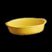 Форма для запекания Emile Henry овальная 35*22.5 см желтая 909052