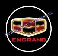 EMGRAND/Эмгранд Врезные проекторы логотипа автомобиля в двери