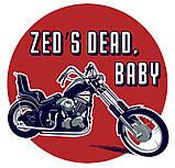 "Байкерська футболка ""Zed's Dead, Baby"", фото 4"