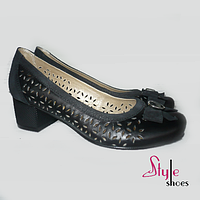 Оригинальные женские туфли лодочки