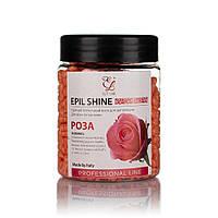 Гарячий віск для депіляції плівковий для чутливої шкіри Elit-lab, Europe 150 гр - Троянда