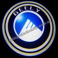 GELLY/Джили Врезные проекторы логотипа автомобиля в двери