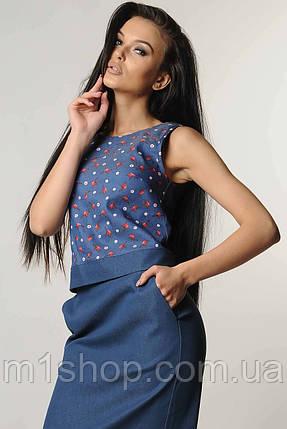 Женская блузка-топ без рукавов (Нои ri), фото 2