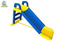 Горка для катания детей, 140см Синяя