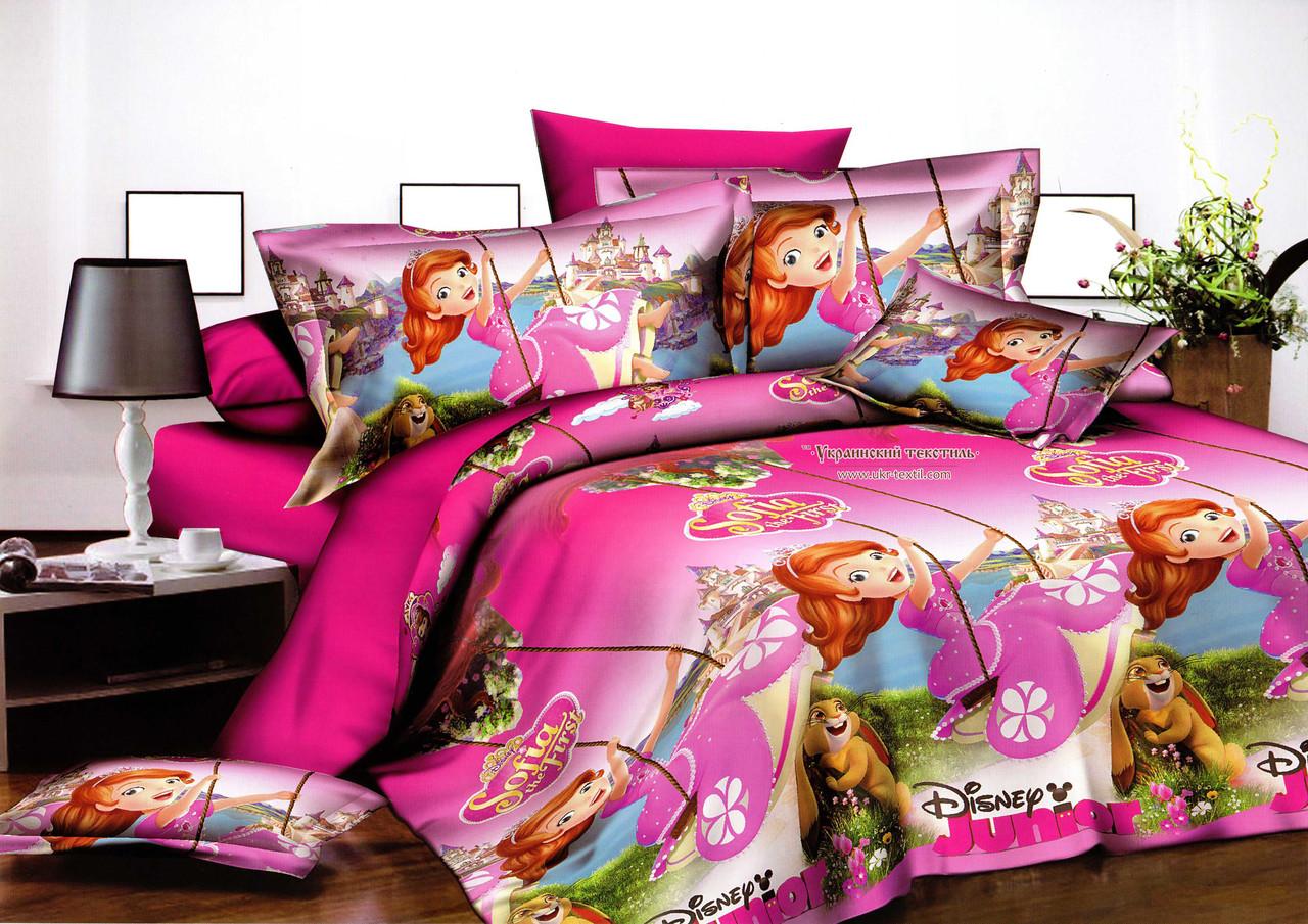 Комплект постельного белья подростковый   Принцесса София