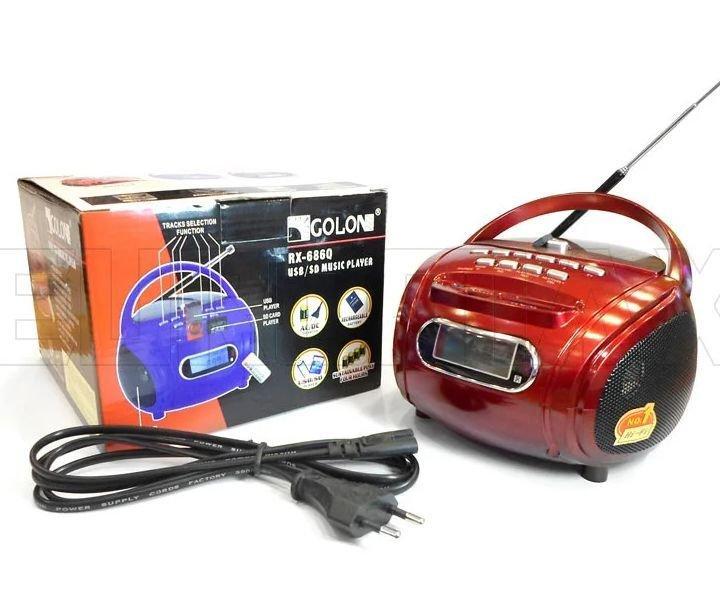 Бумбокс радиоприемник Golon Rx-686q