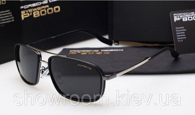 Солнцезащитные очки в стиле Porsche Design (85081) silver