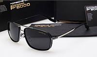 Солнцезащитные очки в стиле Porsche Design (85081) silver, фото 1