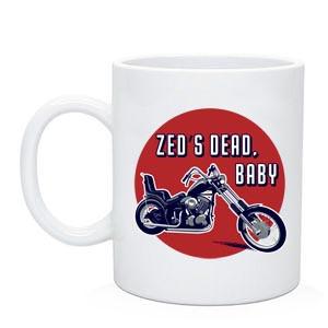 """Байкерская чашка """"Zed's Dead, Baby"""""""