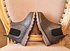 Детские деми ботинки серые Детские ботинки осень Детские деми ботинки на замку, фото 2