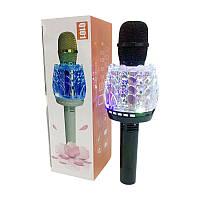 Караоке-микрофон портативный c LED-подсветкой DM Q101