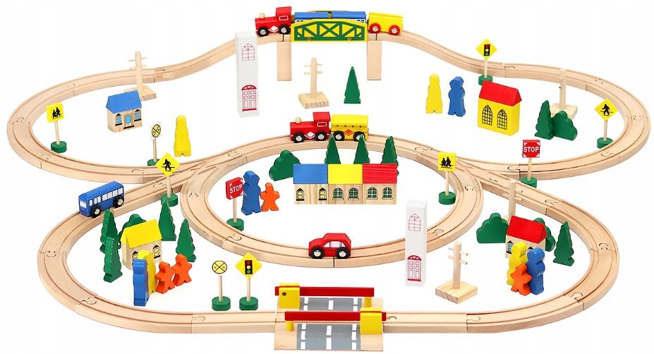 Детская железная дорога MALATEC A847 100 ел.