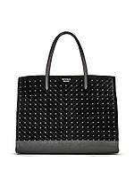 Стильная бархатная  сумка Studded Tote от Victoria's Secret, фото 1