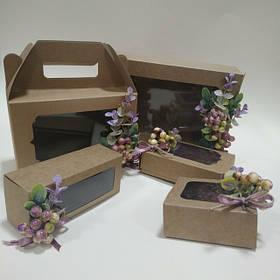 Коробки для подарков с декором