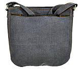 Джинсовая сумка БРИТАНКА, фото 5