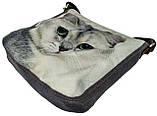 Джинсовая сумка БРИТАНКА, фото 2