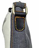 Джинсовая сумка БРИТАНКА, фото 4