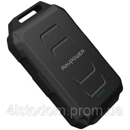 Внешний аккумулятор RavPower Power Bank 10500mAh Black (RP-PB044), фото 2