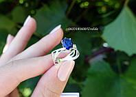 Изысканное кольцо из серебра, фото 1