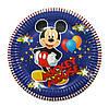 "Тарелки бумажные одноразовые ""Микки Маус, Mickey mouse"" 10 шт"