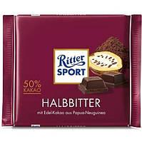 Ritter Sport Halbbitter 50% 100g (12шт)