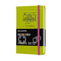 Записная книга Moleskine Super Mario карманная, твердая обл., зеленый, линия (LESMMM710GB), фото 1