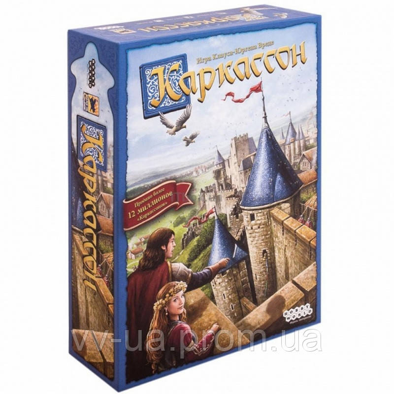 Игра настольная Hobby World Каркассон (издание 2019) 915138