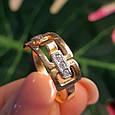 Золотое кольцо женское - Женское золотое кольцо Картье, фото 4