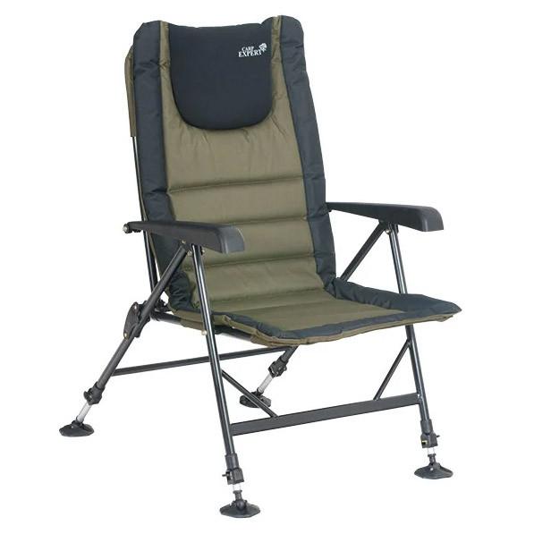 Кресло Carp Expert с подлокотниками (до 120кг)