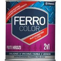 "Краска Chemolak (Хемолак) ""Ferro color"" polmat 0,75 л."