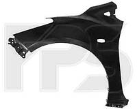 Крыло переднее правое Mazda 2 07-11 с отверстиями без отверстия под молдинг (FPS)
