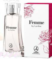 "Женская парфюмированная вода ""Femme"" Lambre / Ламбре 75 мл"