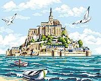 Картина по номерам Мон-Сен-Мишель, 40x50 см, Brushme (Брашми), подарочная упаковка (GX24068)