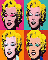 Картина по номерам Монро 4х, 40x50 см, подарочная упаковка, Brushme (Брашми), фото 1