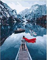 Картина по номерам Озеро Лаго ди Брайес. Сергей Сухов, 40x50 см, подарочная упаковка, Brushme (Брашми), фото 1