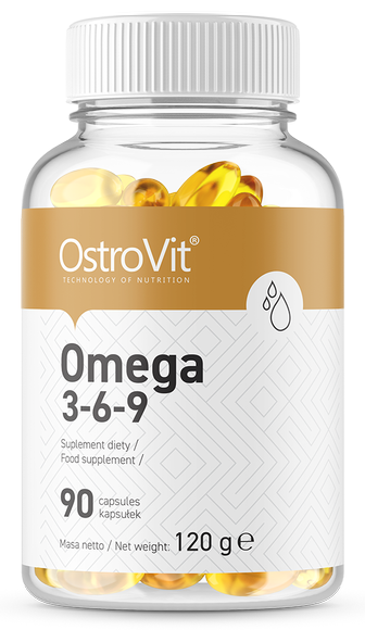 Омега OstroVit - Omega 3-6-9 (90 капс)