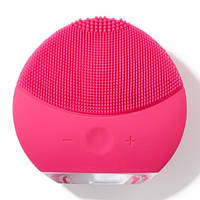 Улучшенная электрическая косметическая щетка для очищения лица Forever Lina Mini 2 FUCHSIA