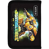Пенал для школы Kite Education Transformers BumbleBee Movie TF19-621-1, 1 отделение, 1 отворот, фото 1