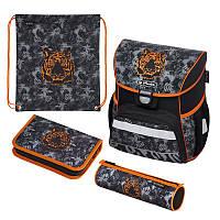 Ранец школьный укомплектованный Herlitz LOOP PLUS Tiger Тигр 50020553