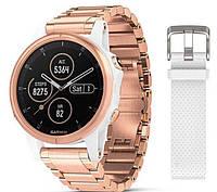 Спортивные часы Garmin Fenix 5S Plus Sapphire Rose Gold (010-01987-11)