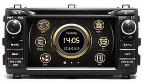 Штатная магнитола EasyGo S332 (Toyota Auris 2006-12)