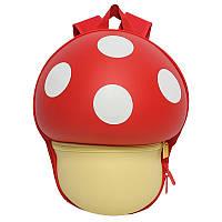 Рюкзак детский Supercute Грибочек, красный (SF025 a) (SF025-a)