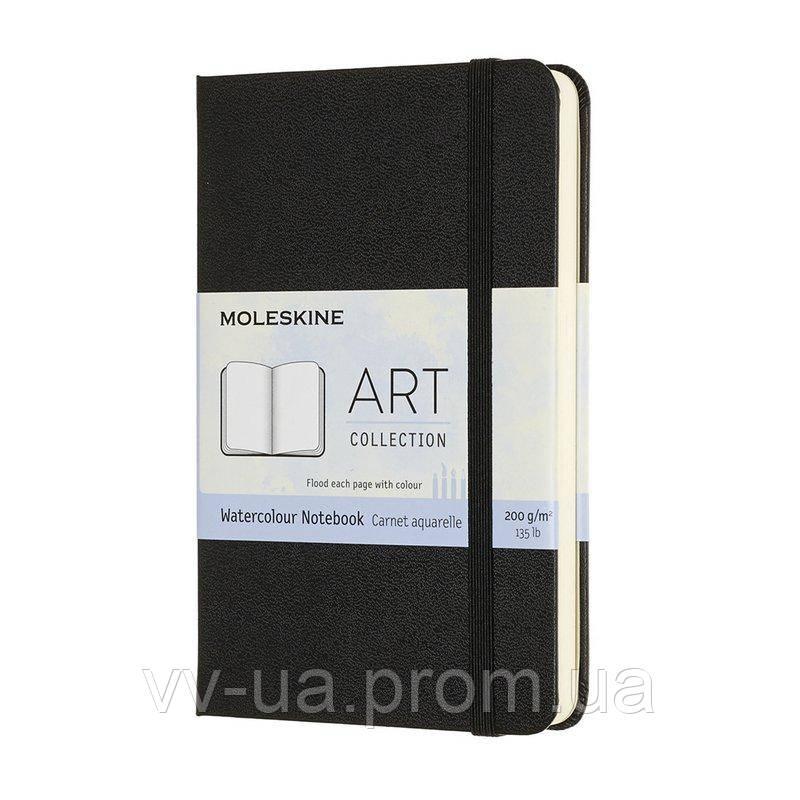 Скетчбук Moleskine Art карманный, твердая обл., черный, нелинованная (ARTMM805)