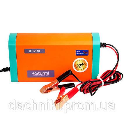 Зарядное устройство Sturm BC12110 (12В, 30-100 Ач), фото 2