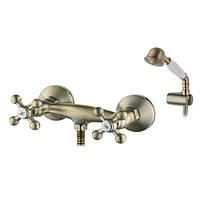 Смеситель для душ. кабины IBERGRIF LUCCA M12052C (цв. бронза) (10 шт/ящ) IB0058