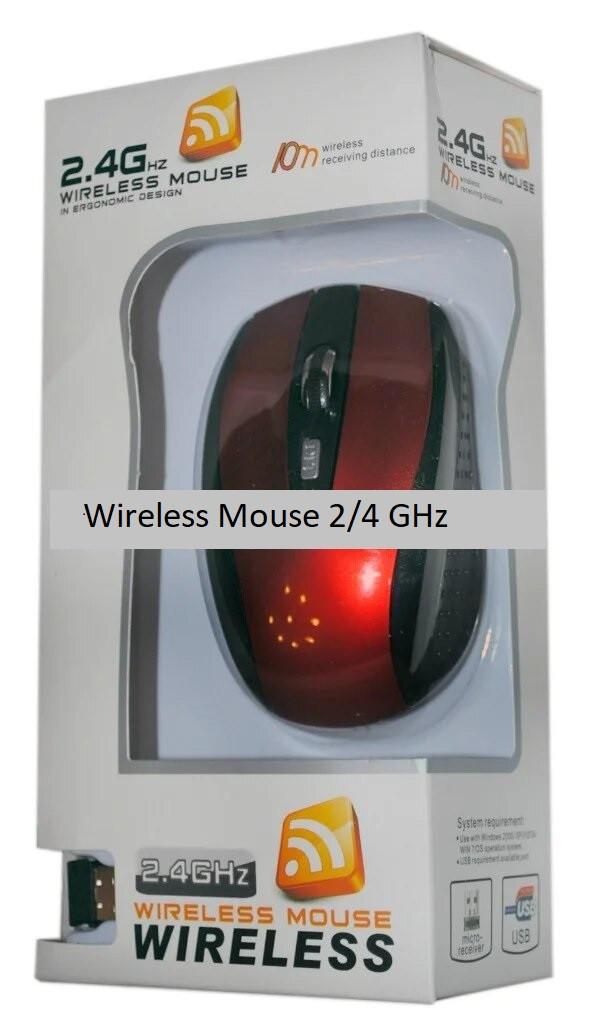 Беспроводная компьютерная мышь G108 Wireless Mouse 2.4 GHz (10 m range)