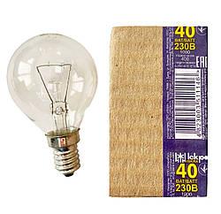 Електролампа шарик 40 Ватт Е14