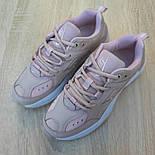 Женские кроссовки Nike M2K Tekno пудровые 36-40р.. Живое фото. Реплика, фото 4