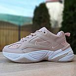 Женские кроссовки Nike M2K Tekno пудровые 36-40р.. Живое фото. Реплика, фото 5